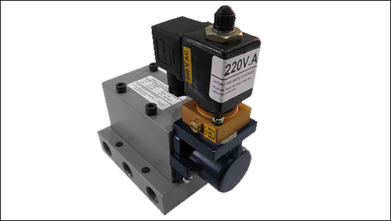 Manually Operated Pneumatic Valves (Poppet Type - S-Series)
